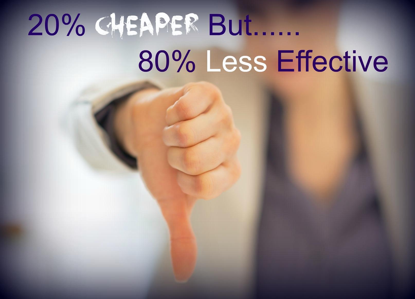 ad cheaper