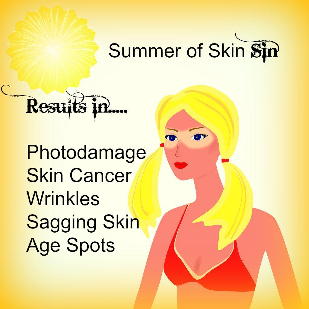 summer skin sin
