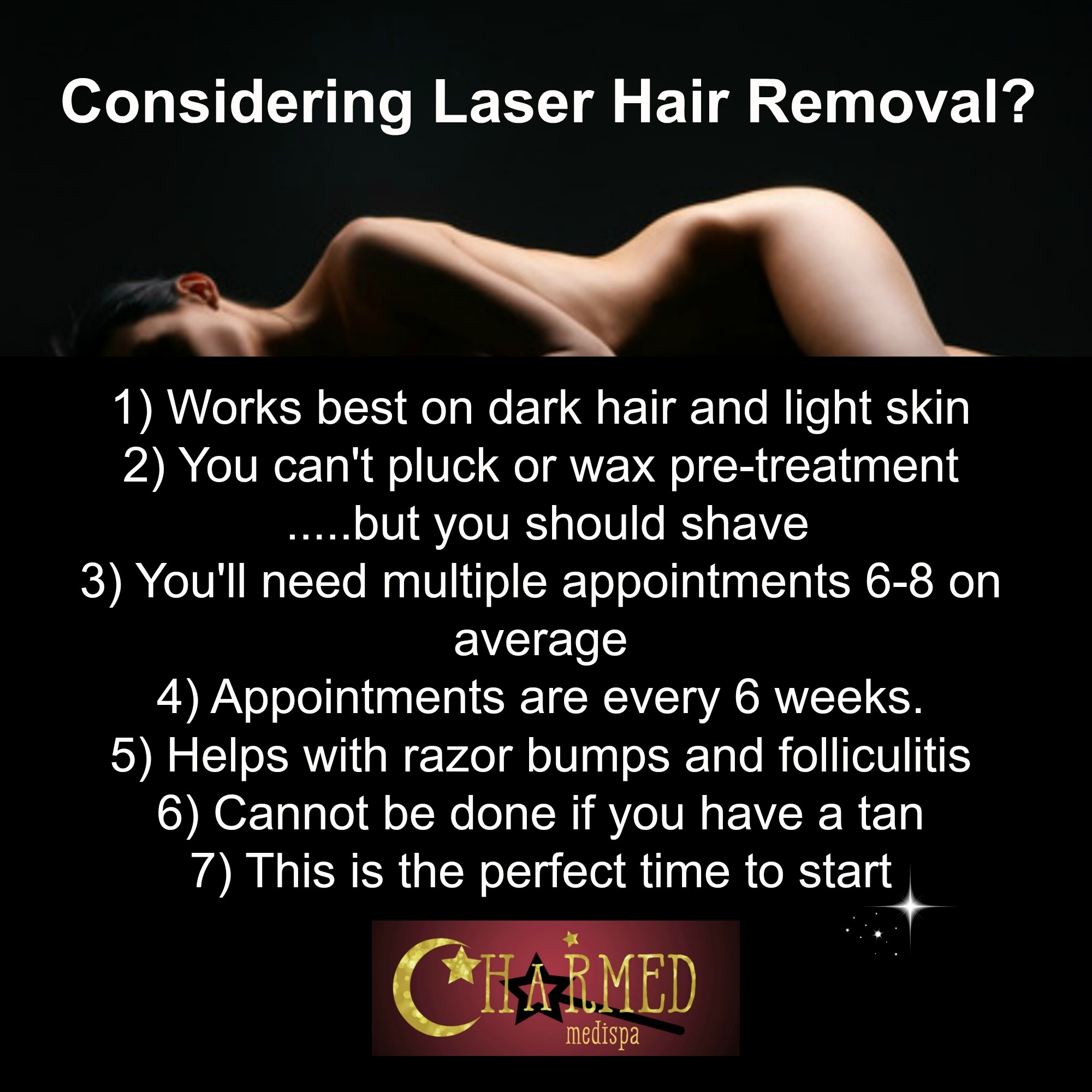 Laser hair removal charmed medispa core details about laser hair removal solutioingenieria Choice Image